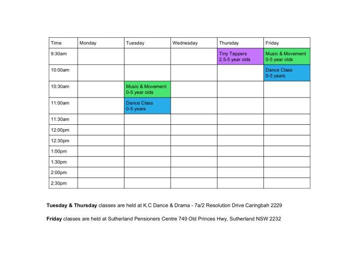 Timetable(1)